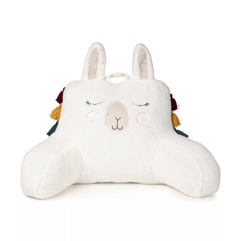 the big one llama backrest pillow