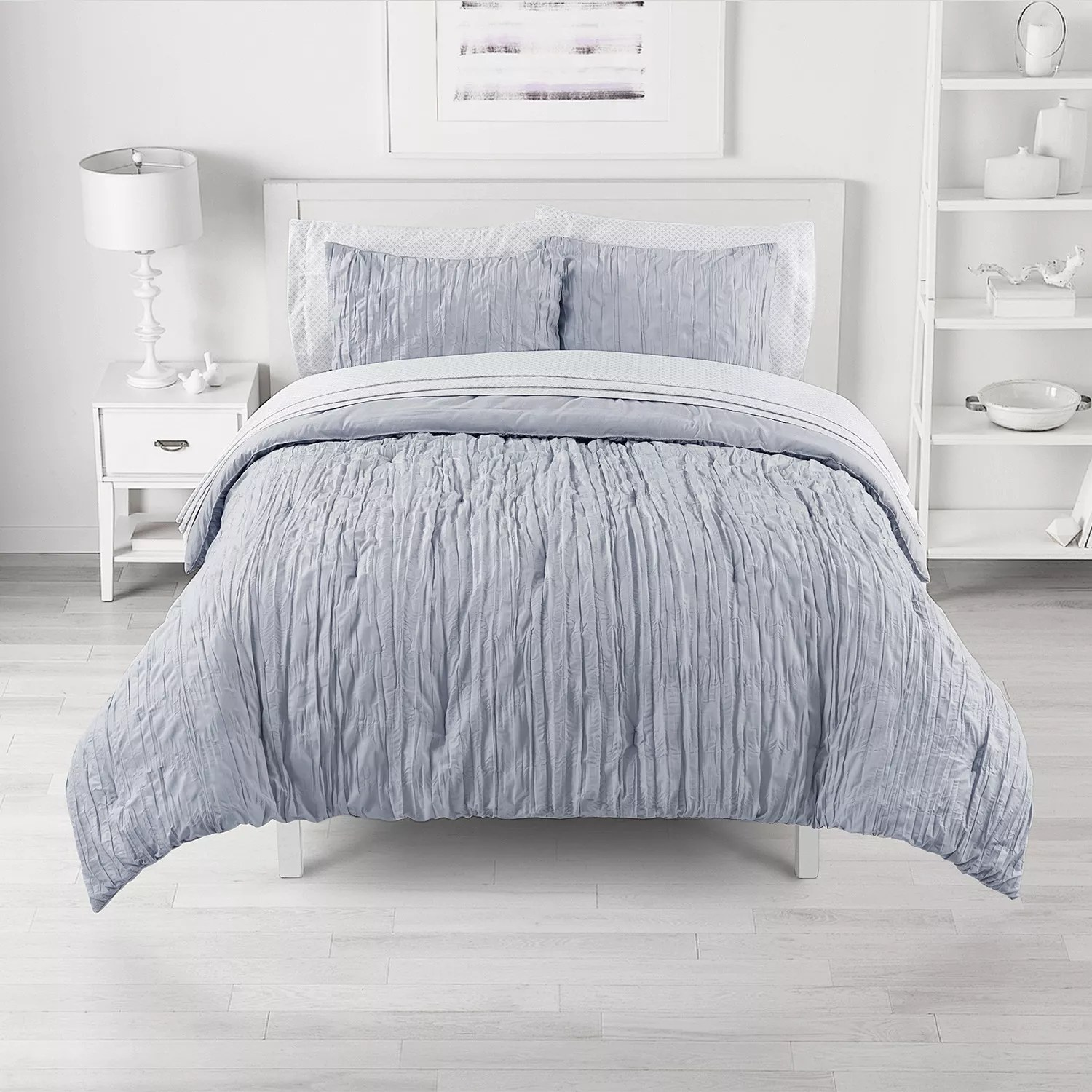 king grey comforters bedding bed