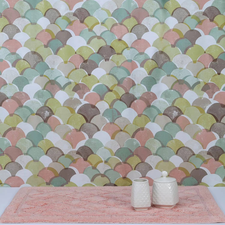 creative bath atlantis 4 piece shower curtain set