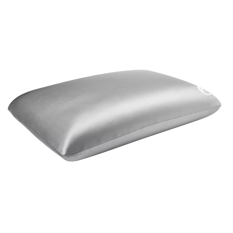 comfort revolution goodnight glow luxe silk memory foam pillow