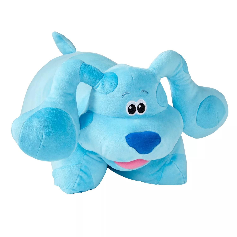 pillow pets nickelodeon blues clues blue stuffed animal plush toy
