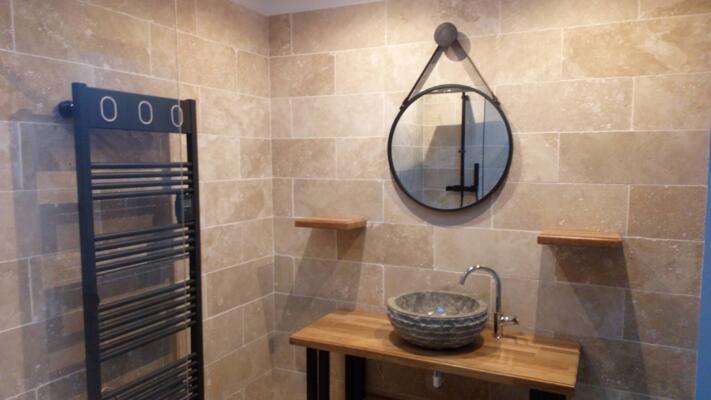 64 photos de salle de bain beige