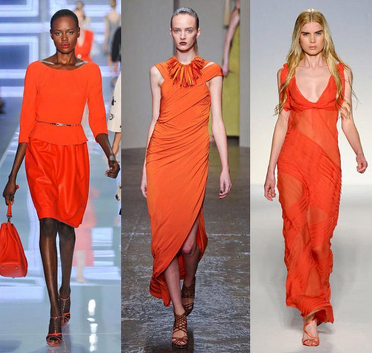 Rosso-arancio.