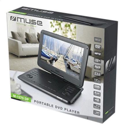 m 1270 dp lecteur dvd portable 12 pouces