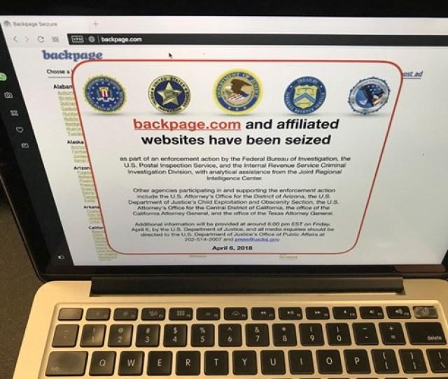 Ap Backpage Seizure A F Usa Ca