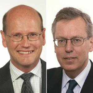 Thomas Östros (S) ioch Mats Odell (KD) ger de rödgrönas och alliansens syn på de kommunalekonomiska frågorna.