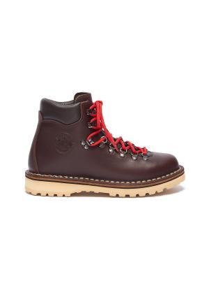 'Roccia' contrast lace calf hiker boots