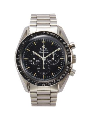 Omega Speedmaster stainless steel watch