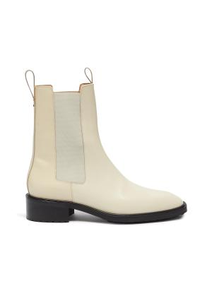 'SIMONE' Patent Leather Chelsea Boots