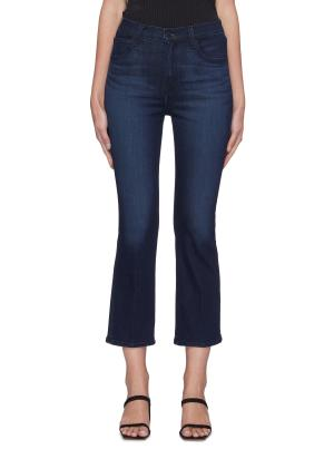 FRANKY' Crop Boot Cut Jeans