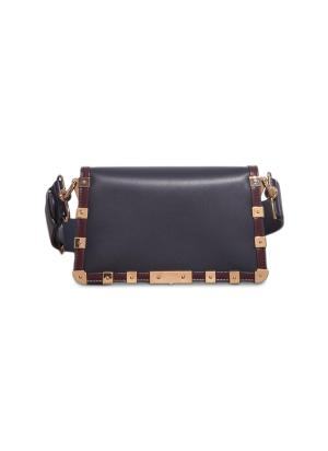 'Joan' Flap leather Bag