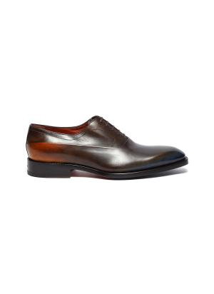 'SCARLETT' Leather Oxford Shoes