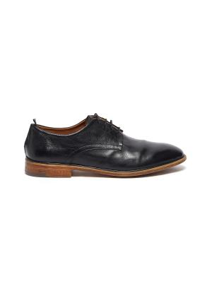 'Todi' leather derby shoes
