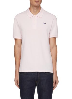 Fox patch polo shirt