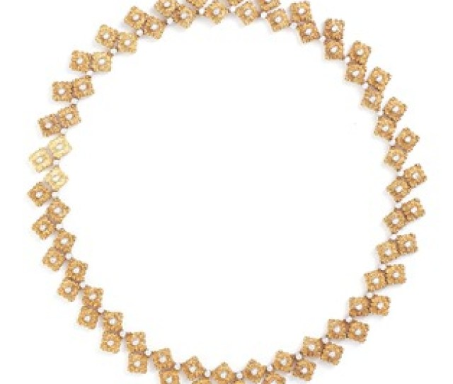 Buccellati Diamond 18k Gold Necklace