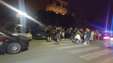roma protesta tiburtino III