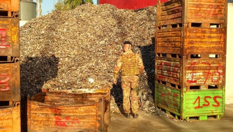 rifiuti esercito militare