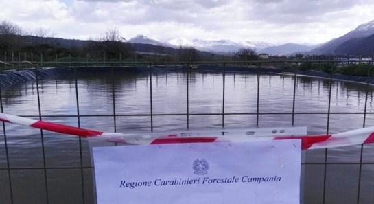 invaso_artificiale_lago_carabinieri_forestale_sequestro