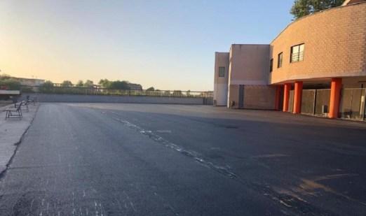 teverola parcheggio plesso scolastico via campanello