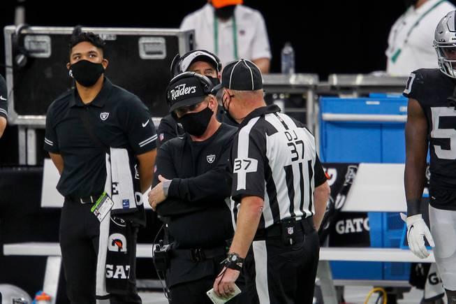 Las Vegas Raiders against Buffalo at Allegiant Stadium
