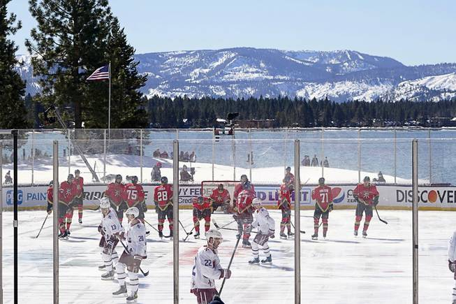 Golden Knights' Outdoor Game Delayed