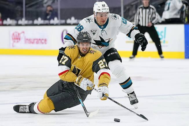 Golden Knights Beat Sharks, 5-2