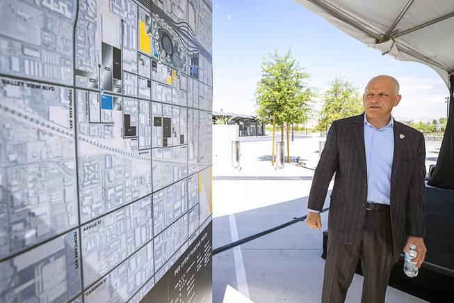 Parking Plan For Allegiant Stadium