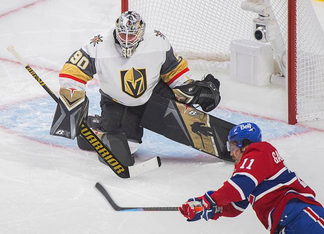Golden Knights Win Game 4 in OT