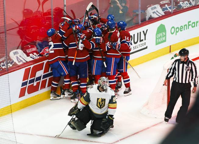 Golden Knights Lose Game 6 to Canadiens, 3-2 in OT
