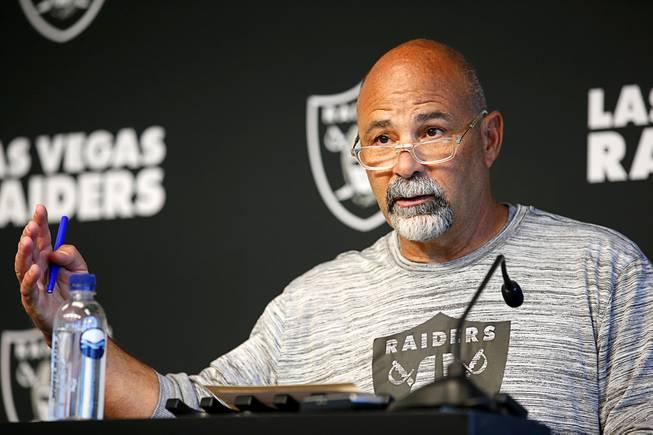 Las Vegas Raiders Interim Head Coach Rich Bisaccia
