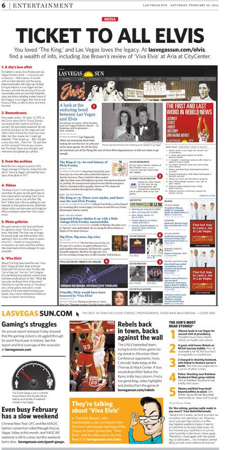 Las Vegas Sun newspaper