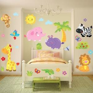 75 x 109 cm taglia large (l): Wall Stickers Per Bambini