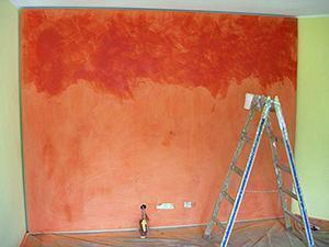 Come dipingere una parete con l'effetto spatolato · le spatolate richiedono tocchi decisi, considerando che si tratta di un tipo di pittura che. Tecnica Dello Spatolato