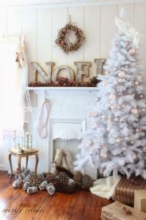 Visualizza altre idee su idee di natale, decorazioni natalizie, idee natale fai da te. Albero Di Natale Shabby Chic