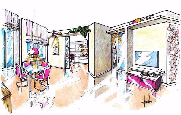Adeguata se la cucina è ricavata in nicchia o in un open space a l. Separare La Cucina Dal Soggiorno