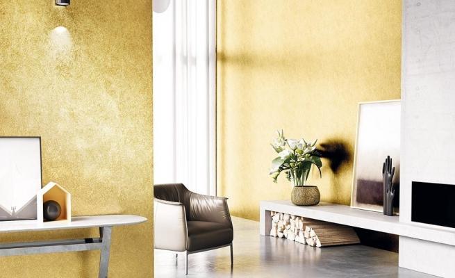 Pitture decorative cucina come personalizzare ambiente usando effetti tridimensionali come creare. Pittura Effetto Metallizzato Per Interni