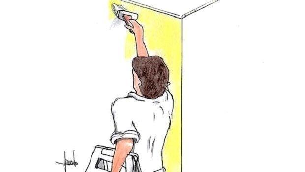 Rivestire porte interne fai da te. Dipingere Le Pareti Di Casa