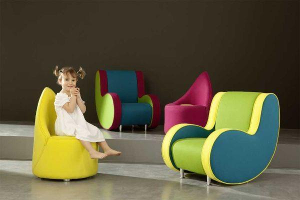 Poltroncine per bambini si trasformano in vero e proprio elemento di design e. Poltroncine Per Bambini