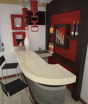 20 idee per un angolo bar rustico in casa   mondodesign.it. Angolo Bar In Casa
