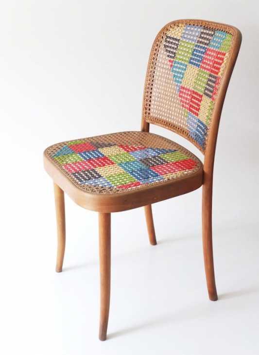 Per ridipingere la sedia sono stati usati smalti per legno [the paint. Come Decorare Sedie Col Fai Da Te