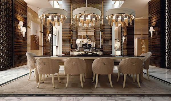Fendi casa ha creato mobili e oggetti di. Arredamento Luxury Materiali E Tessuti