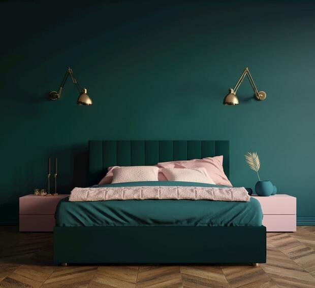 Tra i colori rilassanti per la camera da letto compaiono anche il verde e il viola declinati entrambi in delicate tonalità pastello quali. Pareti Camera Da Letto
