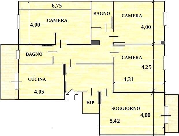 La diversa distribuzione degli spazi interni a roma, in poche parole, si verifica quando andiamo a modificare gli ambienti del nostro immobile che vogliamo andare a ristrutturare, ad esempio aggiungendo un bagno, o se demoliamo e ricostruiamo delle pareti interne, ma anche semplicemente spostandole. Progetto Casa 125 Mq