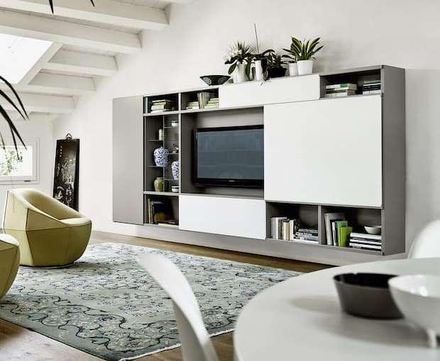 Le ante in vetro sono elementi d'arredo ideali per completare librerie e pareti attrezzati e dare vitalità. Arredamento Soggiorno 5 Idee Per Un Living Di 20 Mq