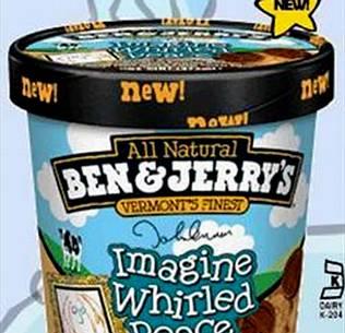 John Lennon inspira el sabor de un nuevo helado de la marca Ben and Jerry