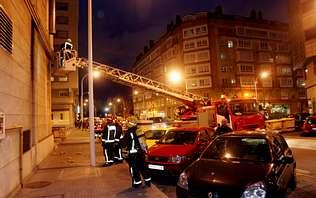 Alarma en Matogrande al explotar la salida de gases de un edificio