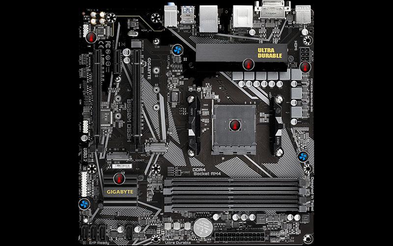 Gigabyte carte mère B550M