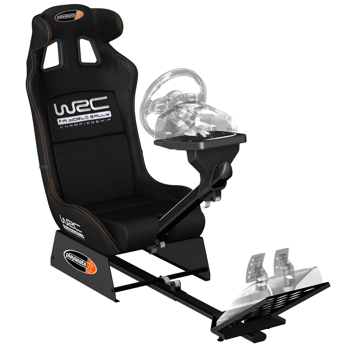 Playseats WRC Sige Simulation Automobile Noir Base Noir