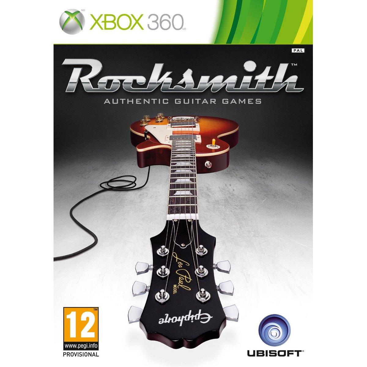 Rocksmith Cable Real Tone Xbox 360 GU02967 Achat Vente Jeux Xbox 360 Sur