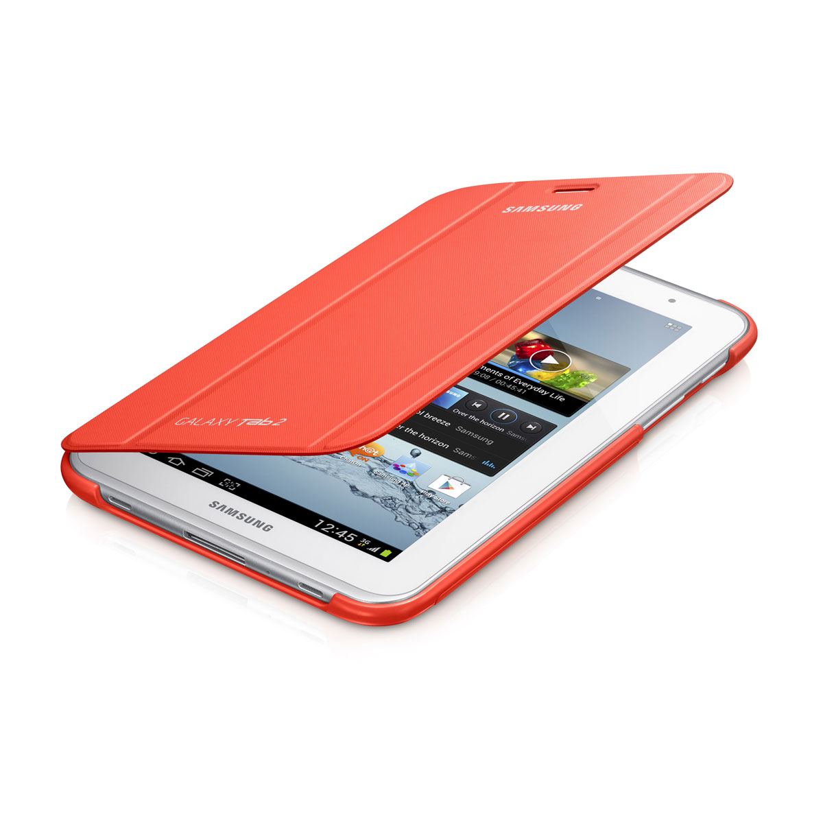 Samsung Book Cover Orange Pour Samsung Galaxy Tab 2 70